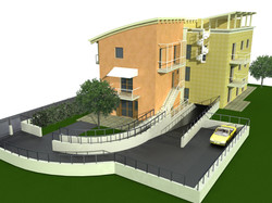 Calcolo strutturale e modellazione di edificio residenziale in c