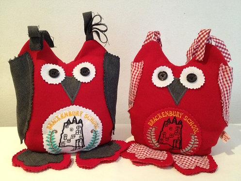 Keepsake Doorstop/Bookshelf Owls