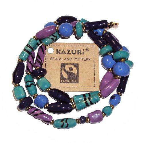 Kazuri Bead Necklace - Monsoon