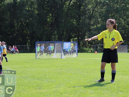 Becoming a Soccer Referee