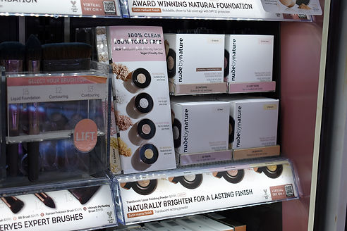 cyplex nude by nature priceline display.