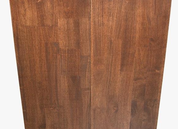 泰國橡膠木雙門實木櫃 24吋x12吋
