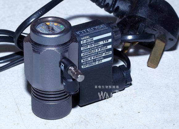 Intense 梅花型減壓錶頭 6mm 直樽用 (德國電磁閥配日本控制器)