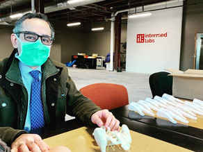 Local Surgeon Pitches IL to Develop his New Innovation