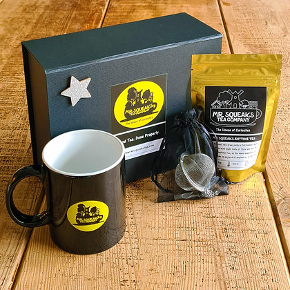 Tea For One Silver Star Box
