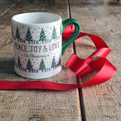 Christmas Foil Mug