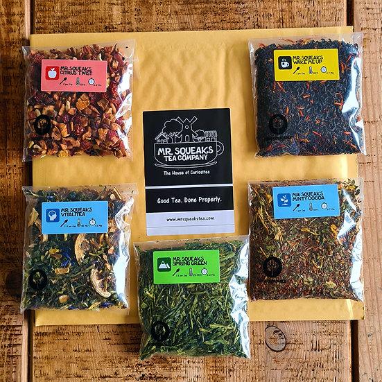 Five Tea Sample Pack