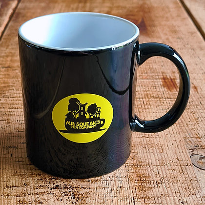 MSTC Black Mug