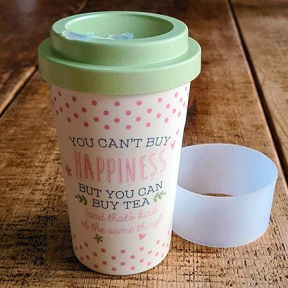 Love Life Bamboo Travel Mug