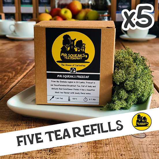 Five Caddy Refill Subscription