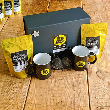 Tea For Two Silver Star Box