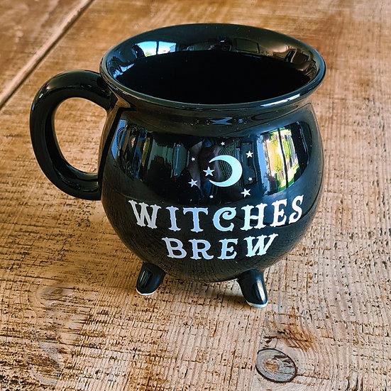 Club Witches Brew Cauldron Mug