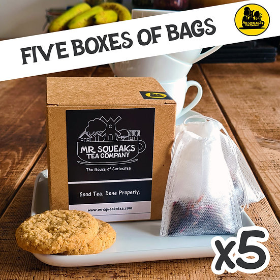 Five Box Teabag Subscription