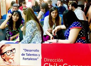 Charlas y Talleres IBE- Desarrollo de Talentos y Fortalezas en Chilecompra.