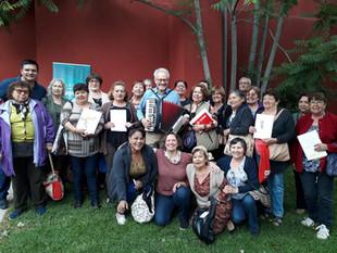 Adultos Mayores de Colina disfrutaron y aprendieron en dinámico Taller realizado por IBE