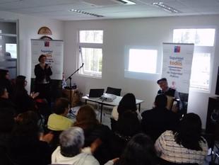 Finalizamos charlas y talleres impulsadas por el Departamento de Seguridad Pública de la Municipalid