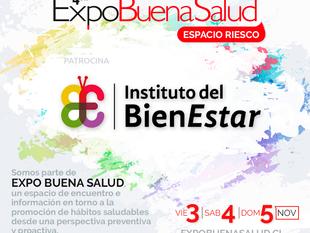 Súmate a la Expo Buena Salud: 03-04 y 05 de noviembre, Espacio Riesco.