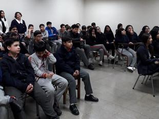 """Área educación: Colegio Hermanos Matte participó de Taller """"Autodeterminación: Descubriendo mis fort"""