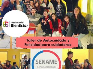 IBE realizó taller para equipo SENAME en Antofagasta