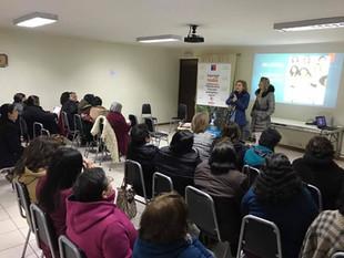 Mujeres de la Municipalidad de Molina participaron de una inspiradora charla sobre logros y desafíos