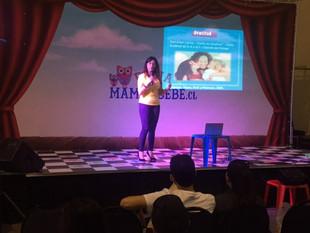 Instituto del Bienestar educando en felicidad en Feria Mamá y Bebé.