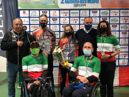 Team Equa – Pioggia di medaglie ai Campionati Italiani strada di Marina di Massa