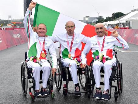 Tokyo 2020 - oro nel team relay  per il Team Equa