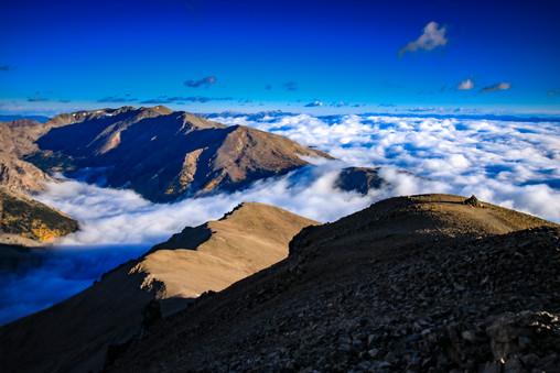 Mt. Elbert at sunrise