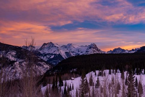telluride sunset 2