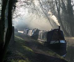 2008 'Canal Scene' by Trudy Haddon