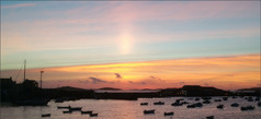 Sunset over St. Marys - Scilly Isles Ian Atchison