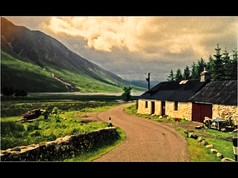 1986 'On the Road to Loch Etive' by Ken Brendon