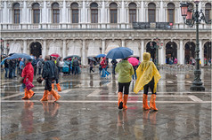 A WET ST.MARKS SQUARE