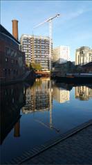 Birmingham Canal Basin Ian Atchison