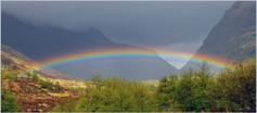 Glen Coe Rainbow
