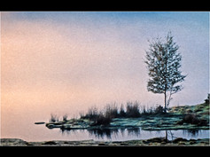 1990 'At the Edge of the Lake' by Ken Brendon