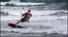 Wind Surfer Paul Nicholas