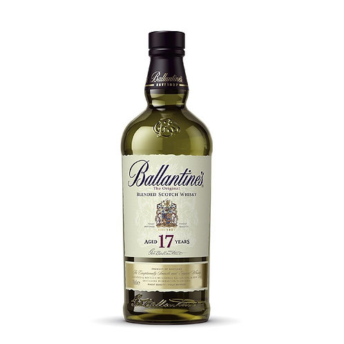 BALLANTINE'S 17 Years Old Blended Whisky 70cl with Box