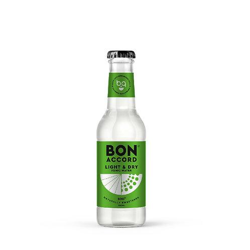 BonAccord Light & Natural Tonic Water Scotland