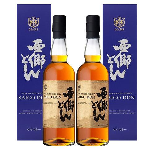 TWIN BUNDLE Mars Whisky Saigo Don 70CL