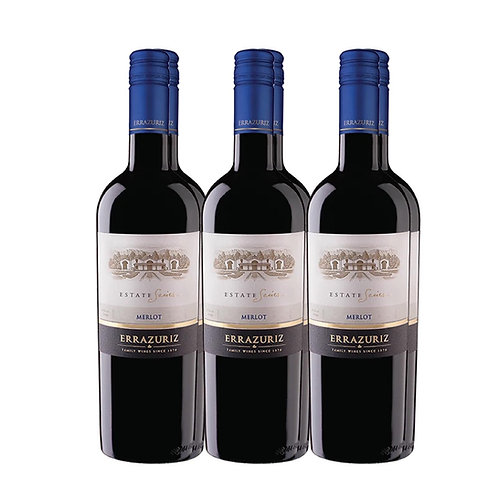 ERRAZURIZ Estate Merlot 6btl x 750ml
