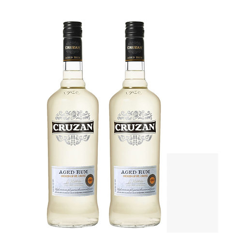2x Cruzan Light Aged Rum Bundle