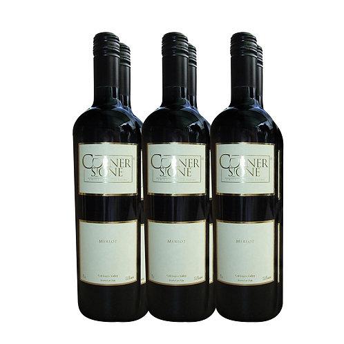 Cornerstone Merlot 2020 6 Bottles x 750ml