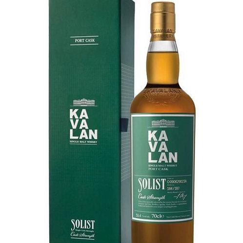 KAVALAN Port Cask Of 70cl  57.8 %
