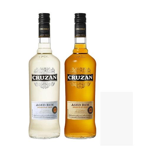 Cruzan Dark + Cruzan Light Rum Bundle