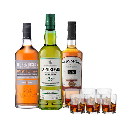 The High AGED WHISKY BUNDLE
