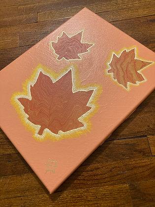 Maple Leaf Day - 11 x 14