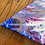Thumbnail: Triune - Ringed Dutch Pour- 12 in triangle canvas