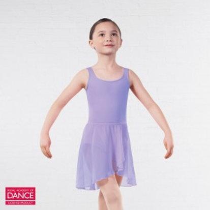 Emilia Wrapover Chiffon Skirt - Lilac