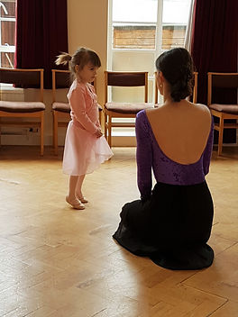 Wonderful Students at Prima School of Ballet